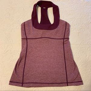 Lululemon Athletic tank top size 6